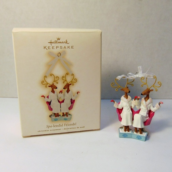 Hallmark Other - Hallmark Keepsake Spa-Lendid Friends Ornament